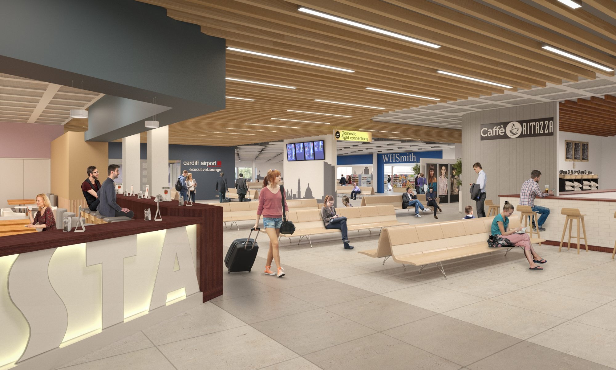 Powell Wins Cardiff Airport Contract Office Design